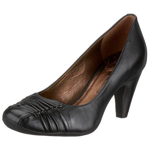 Clarks Double Glaze 2032 3409, Damen Pumps, schwarz, (black leather)