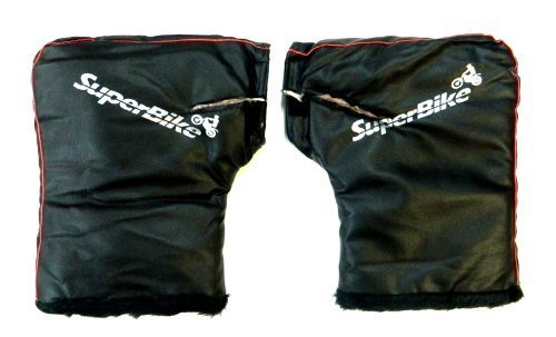 SuperBike Motorcycle Handle Bar Mitts Muffs Gloves Hand Warmer