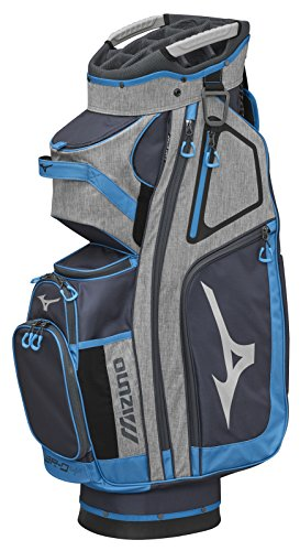 Mizuno 2018 BR-D4C Cart Golf Bag, Grey/Light Blue
