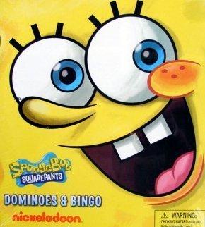 (Spongebob Squarepants Dominoes and Bingo Game)