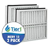 Tier1 Replacement for Trane 21x27x5 Merv 13 FLR06070 BAYFTR21M Air Filter 2 Pack