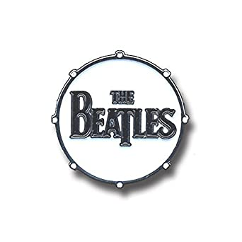 Amazon The Beatles Drum Drop T Logo Official Pin Button Badge Clothing