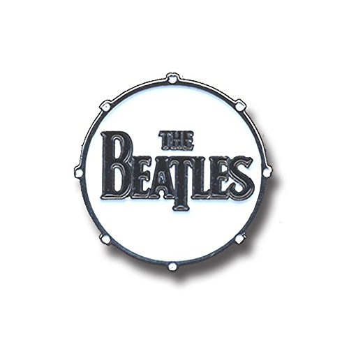 The Beatles - Beatles Metal Pin: Drum Drop T Logo -