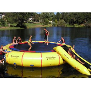 """Island Hopper 25′""""Giant Jump Water Trampoline Review"""