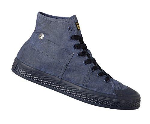 G-STAR RAW Bronson Retro Herren High Top Sneaker Dunkelblau Blau