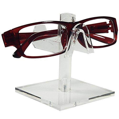 Mooca 3 Piece Acrylic Eyeglasses Frame Riser, Single - Sunglasses Wall Frame Display