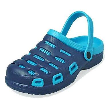 Zapatos de hombre / Exterior / atléticos casual zuecos sintéticas & Mulas Azul / Verde / Gris / Negro y rojo / azul Royal/Caqui Caqui