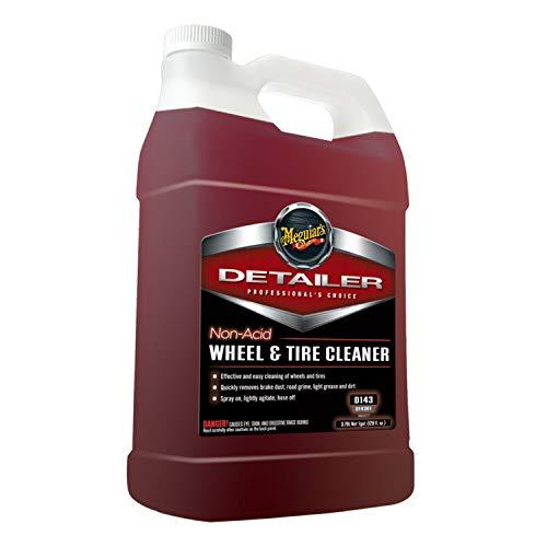 (MEGUIAR'S D14301 Non Acid Tire & Wheel Cleaner, 1 Gallon, 128. Fluid_Ounces)