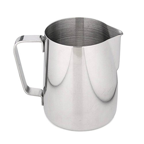 Candora 350ml Stainless Steel Frothing Pitcher Milk Coffee Tea Jug Kitchen Cup Craft
