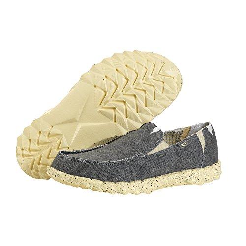 Chaussures Citron Uk12 Hommes Funk Mec De Mule Eu46 Farty Feuillet Gris q1wzwrtY