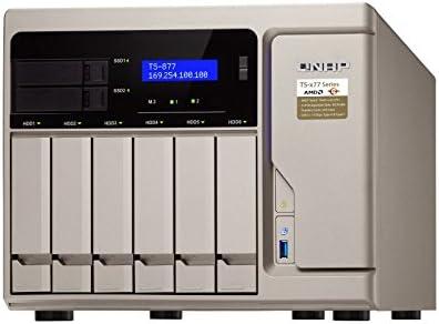 QNAP TS-877 Ethernet Torre Oro NAS - Unidad Raid (Unidad de Disco ...