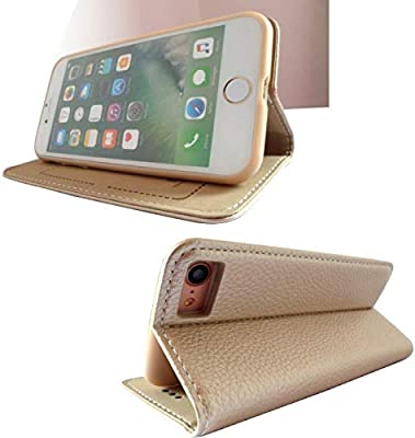 info for 53a13 0a3ad iPhone 6/6s (4.7 Inch) Xundo Flip Leather Case Cover - Gold: Amazon ...