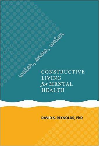 Elegant Water, Snow, Water: Constructive Living For Mental Health (A Latitude 20  Book): David K. Reynolds: 9780824836955: Amazon.com: Books