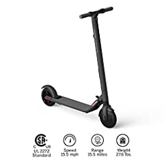 The ES2 Kick Scooter kicks the ES1's performance up a notch -- delivering more speed in a similar package. It's foldable, lightweight and its specifications cater to commuters and recreational riders looking for a boost. The ES2 can hit a max...