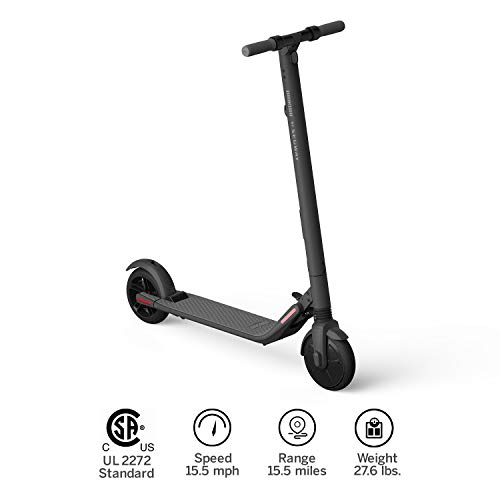 Segway Ninebot ES2 Folding Electric Kick Scooter, Dark Grey ()