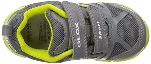 Light 34 3 12 Grey GEOX Boys' BR Big M Lime Kid JR Androidboy Sneaker US wqWXCTB
