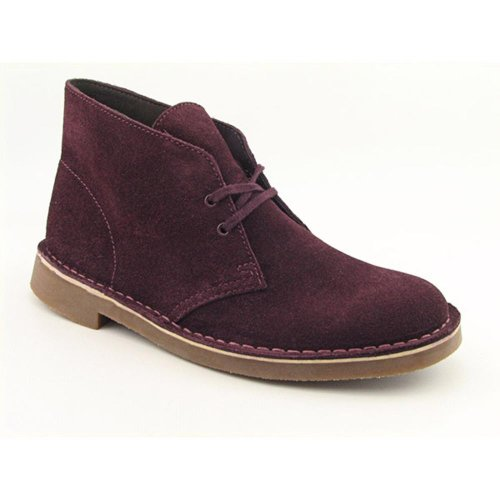 Clarks Bushacre 2 Mens Boots Red Suede 82516 Size 9.5 M FwgymjE0q