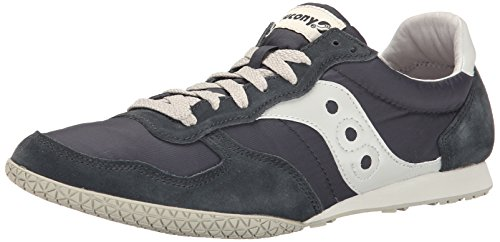 Saucony Originals Men's Bullet Classic Sneaker,Navy/Gray,12 M US