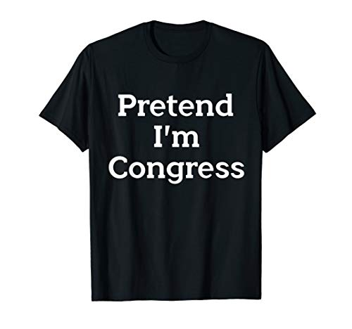 Funny Political Halloween Costume Ideas (Pretend I'm Congress Costume Party Lazy Funny Halloween)