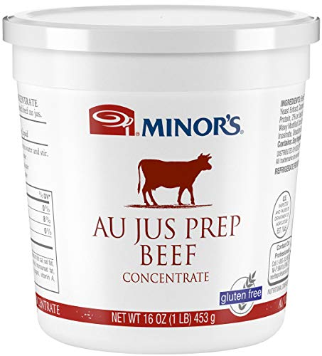 Minor's Beef Flavored Base Variety (includes 16oz minor beef au jus, 1 original minor beef base) by Minor's (Image #4)