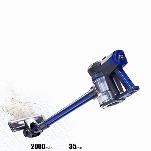 WEIWEI Steam Mop, Hardwood Floor mop, Steam Cleaner System, Handheld Steamer and Scrubbing Tools, and Clothing Steamer Tool, Royal Blue