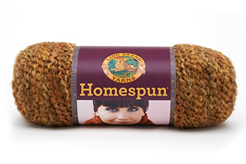 Lion Brand Yarn 790-409B Homespun Yarn, Bourbon