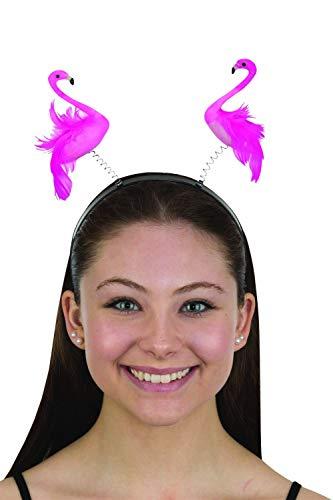Fun and Tacky Flamingo Boppers Headband