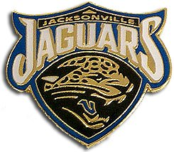 NFL Jacksonville Jaguars Logo Pin