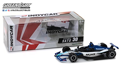 GreenLight 1: 18 2018#30 Takuma Sato/Rahal Letterman Lanigan Racing, Blue/White