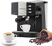 West Bend 55100 Machine 15 Bar Pressure Pump Espresso Coffee Latte and Cappuccino Maker with Dual Heating Syst