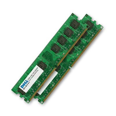 - 2 GB Dell New Certified Memory RAM Upgrade for Dell Dimension 5150 Desktop (2 pieces of 1GB)