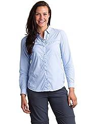 ExOfficio Womens BugsAway Halo Stripe Long Sleeve