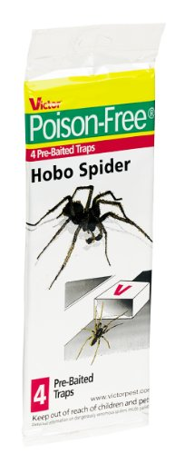 Victor Poison-Free M293 Hobo Spider Trap, 4-Pack