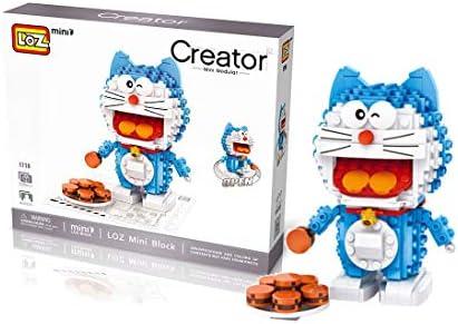 Outletdelocio.. LOZ 1710. Kit de construccion miniaturizada. Doraemon con Galletas. 330 Piezas: Amazon.es: Juguetes y juegos