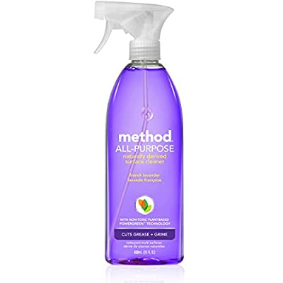 Method Naturally Derived All-Purpose Cleaner Spray, Lavender, 28 Ounce
