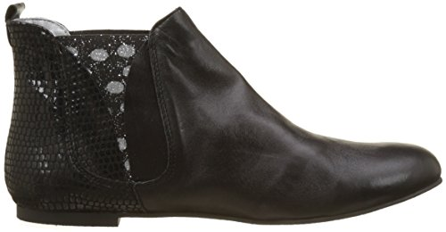 Ippon Vintage Patch-dots, Women's Chelsea Boots Black (Black)