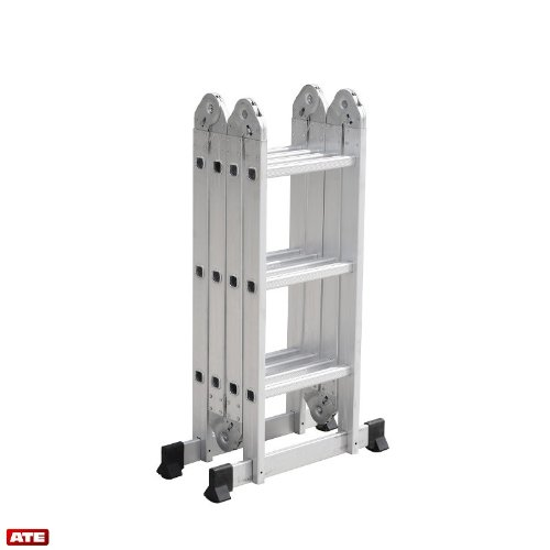 Multipurpose Aluminum Folding Ladder Collapsible Safety Ladder