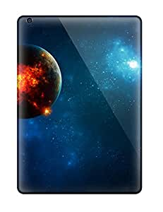 Shirley P. Penley's Shop Cheap Ipad Air Hard Back With Bumper Silicone Gel Tpu Case Cover Planet's Core