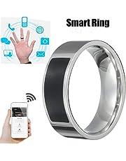 Bokoo NFC Universal Wear Smart Ring, Multifunctional Waterproof Intelligent Ring Smart Wear Finger Digital Ring for iPhone X XR XS MAX Huawei Mate 20pro (10#)