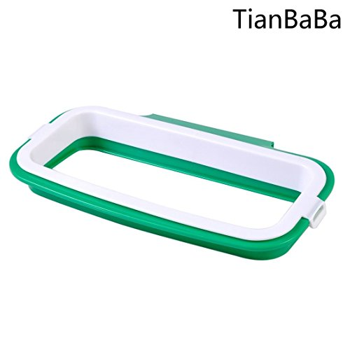 TianBaBa Portable Hanging Trash Stand Rack Rubbish Garbage Holder Cupboard Kitchen Tools new design Oak Set Sideboard