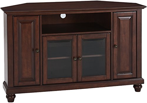 Crosley Furniture Cambridge 48-inch Corner TV Stand - Vintage ()