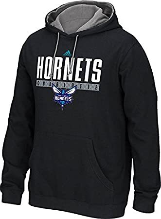 adidas Charlotte Hornets 2015 NBA Playbook Men s Sudadera con Capucha, Medium