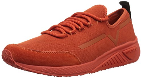 - Diesel Women's SKB S-KBY Stripe W - Sneakers PUREED Pumpkin, 10 M US