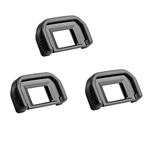 pangshi Eyepiece/Eyecup (Canon EF Replacement) Compatible with Canon Rebel DSLR Cameras(3 Pack)