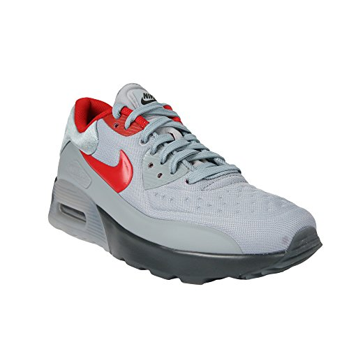 Pictures of Nike Air Max 90 Ultra SE (GS) Anthracite Wolf Grey Gym Red 005 2