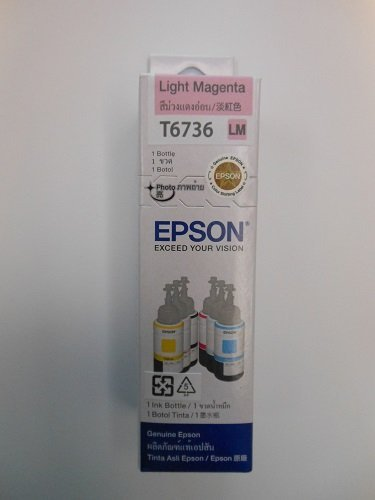 Ink T6736 Light Magenta for EPSON L800 ()