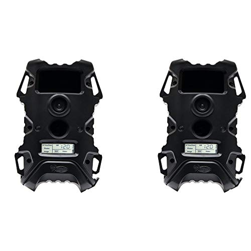 Wildgame Innovations Vision 12 Blackout 12MP IR Game Camera (2 Pack)