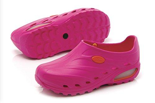 Oxypas Dynamic, Women's Safety Shoes, Pink (Fux), 6.5 UK (40 EU) Rosa - Pink (Fux)