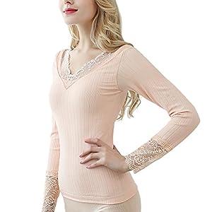 Joyshaper Ropa Camiseta Interior T/érmica Ligera de Tirantes para Mujer Thermal Underwear Camisole Tops Thick Fleece Lined