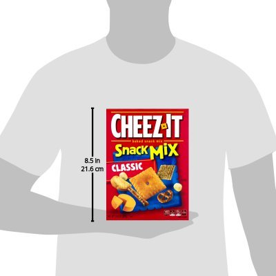 PACK OF 12 - Cheez-It Baked Snack Crackers Snack Mix Classic, 10.5 OZ by Cheez-It (Image #8)